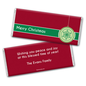Jingle Bells Personalized Candy Bar - Wrapper Only