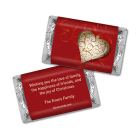 Christmas Charm Christmas Personalized Miniature Wrappers