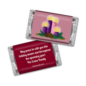 Christmas Personalized HERSHEY'S MINIATURES Wrappers Grace and Peace to You