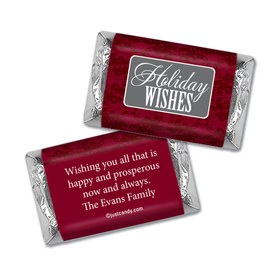 Joy and Prosperity Christmas Personalized Miniature Wrappers