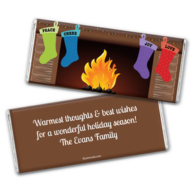 Hung by the Fire Personalized Candy Bar - Wrapper Only