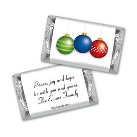 Ornament Trio Christmas MINIATURES Candy Personalized Assembled