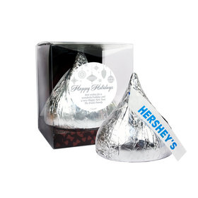 Personalized Silver Ornaments 12oz Giant Hershey's Kiss
