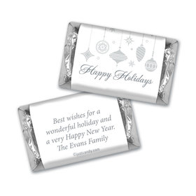 Sweet Silver Ornaments Christmas MINIATURES Candy Personalized Assembled