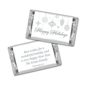 Sweet Silver Ornaments Christmas Personalized Miniature Wrappers