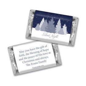 Silent Night Christmas MINIATURES Candy Personalized Assembled