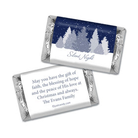 Silent Night Christmas Personalized Miniature Wrappers