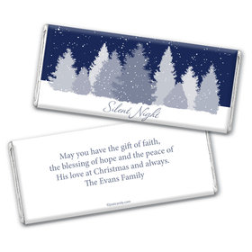 Silent Night Personalized Candy Bar - Wrapper Only