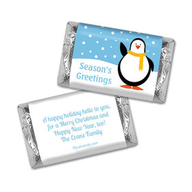 Penguin Pal Christmas Personalized Miniature Wrappers