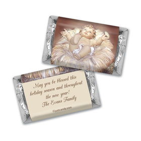 Christmas Personalized HERSHEY'S MINIATURES Away in a Manger
