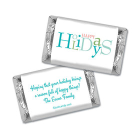 Happy Season Christmas Personalized Miniature Wrappers
