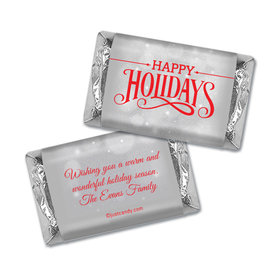 Cozy Holiday Christmas Personalized Miniature Wrappers