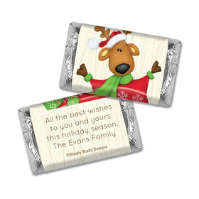 Reindeer Games Christmas Personalized Miniature Wrappers