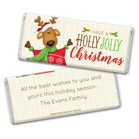 Reindeer Games Personalized Candy Bar - Wrapper Only