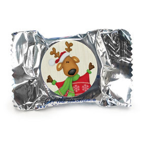 Personalized York Peppermint Patties - Christmas Jolly Reindeer