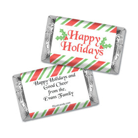 Holiday Treats Christmas Personalized Miniature Wrappers