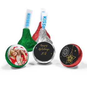 Personalized Hershey's Kisses - Christmas Sparkles (50 Pack)