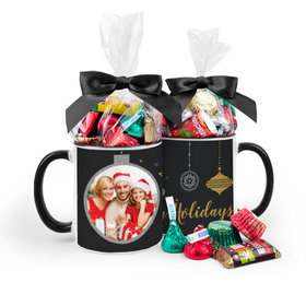 Personalized Christmas Once Upon a Holiday 11oz Mug with Hershey's Holiday Mix