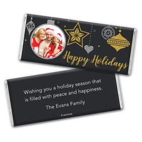 Once Upon a Holiday Personalized Candy Bar - Wrapper Only