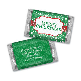 Let it Snow Christmas MINIATURES Candy Personalized Assembled