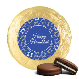Chocolate Covered Oreos - Hanukkah Festive Patern