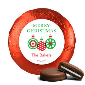 Personalized Christmas Ornaments Chocolate Covered Oreos