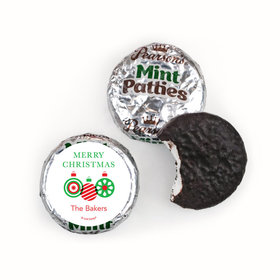 Personalized Christmas Ornaments Pearson's Mint Patties