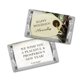 Personalized Christmas Confetti Hershey's Miniatures Wrappers
