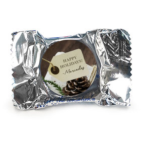 Personalized Christmas Corporate Hang Tag York Peppermint Patties