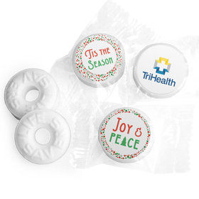Personalized Christmas Confetti Add Your Logo Life Savers Mints