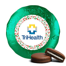 Personalized Christmas Confetti Add Your Logo Chocolate Covered Oreos