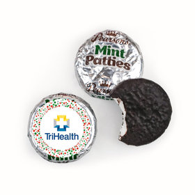 Personalized Christmas Confetti Add Your Logo Pearson's Mint Patties