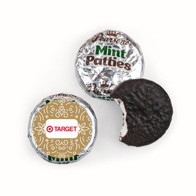 Personalized Happy Holidays Add Your Logo Pearson's Mint Patties