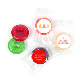 Personalized Christmas Festive Greetings Life Savers 5 Flavor Hard Candy