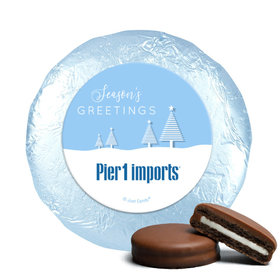 Personalized Christmas Frosty Pines Chocolate Covered Oreos