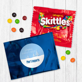 Personalized Christmas Frosty Pines - Skittles