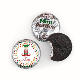 Personalized Christmas Naughty or Nice Pearson's Mint Patties