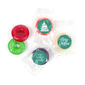 Personalized Oh Christmas Tree Life Savers 5 Flavor Hard Candy