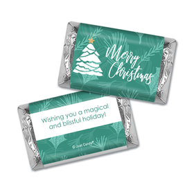 Personalized Oh Christmas Tree Hershey's Miniatures Wrappers