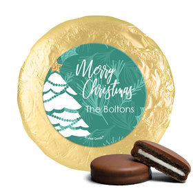 Personalized Oh Christmas Tree Chocolate Covered Oreos