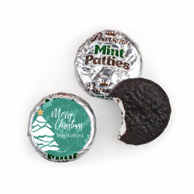 Personalized Oh Christmas Tree Pearson's Mint Patties