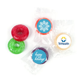 Personalized Christmas Wintry Wishes Life Savers 5 Flavor Hard Candy
