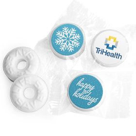 Personalized Christmas Wintry Wishes Life Savers Mints