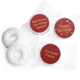 Personalized Happy Holidays Life Savers Mints