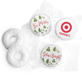 Personalized Christmas Be Merry Shine Bright Add Your Logo Life Savers Mints