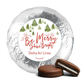 Personalized Christmas Be Merry Shine Bright Chocolate Covered Oreos