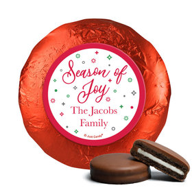 Personalized Christmas Season of Joy Chocolate Covered Oreos