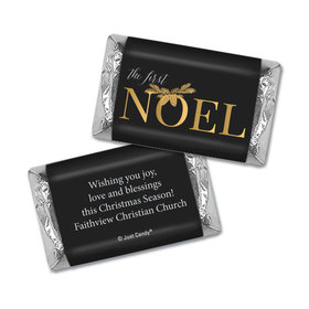 Personalized Christmas First Noel Hershey's Miniatures Wrappers