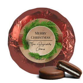 Personalized Christmas Brown Paper Packages Chocolate Covered Oreos