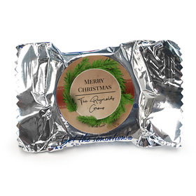 Personalized Christmas Brown Paper Packages York Peppermint Patties